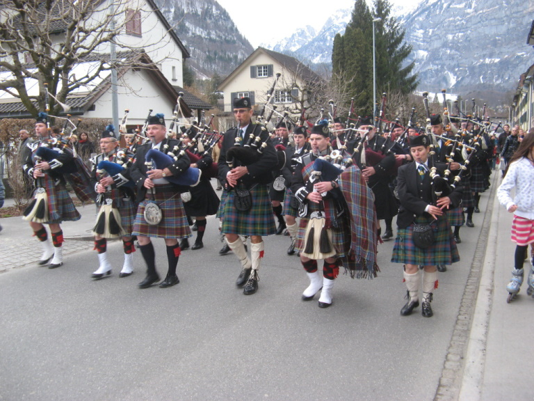 30 Jahre Glaronia Pipes and Drums