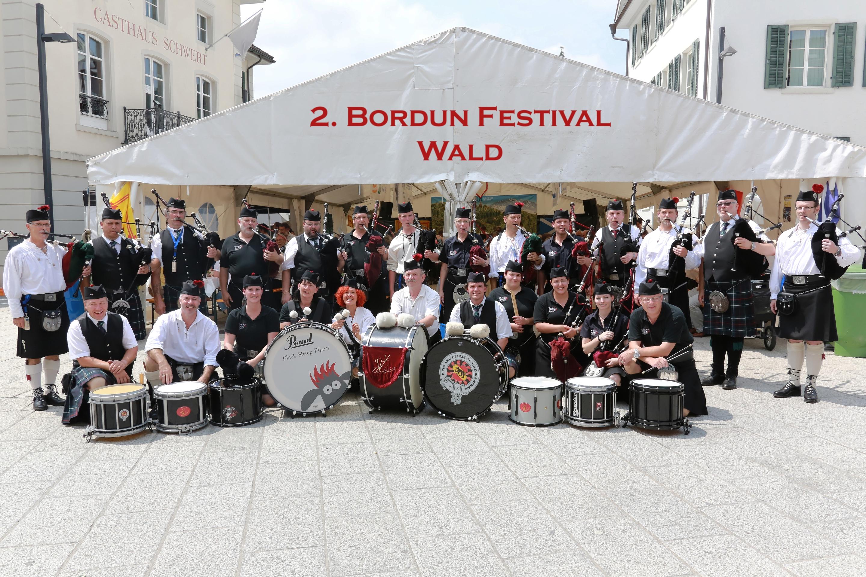 Bordunien Festival in Wald