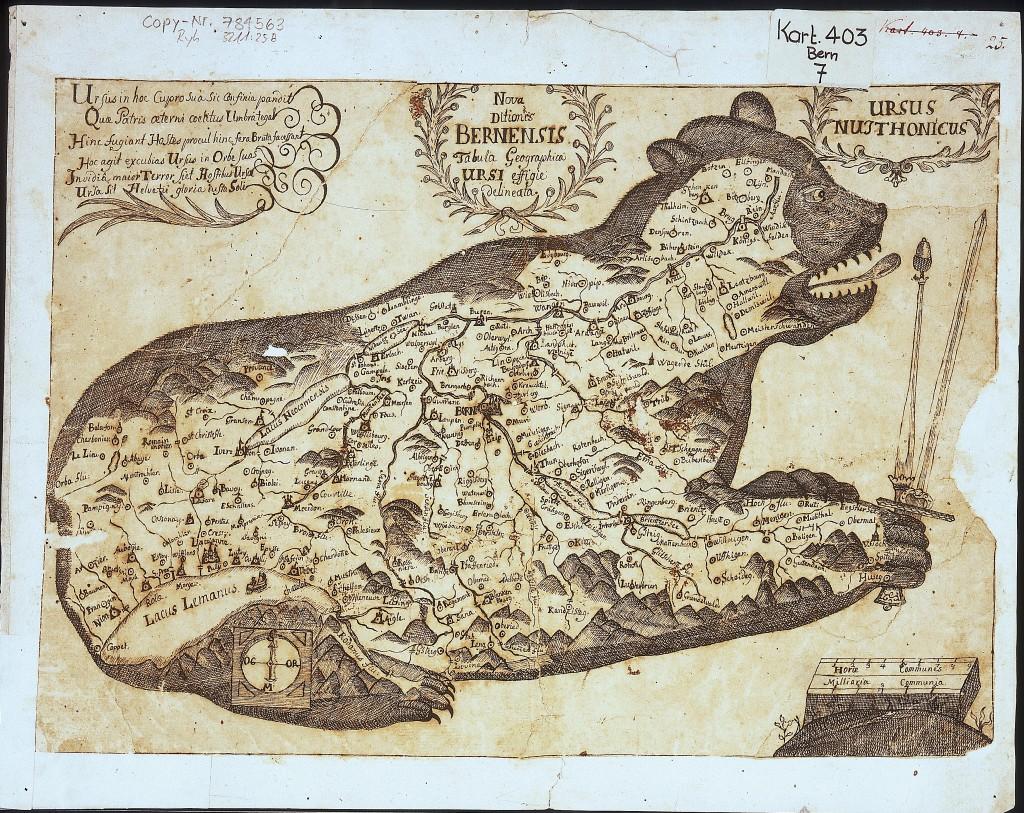 Einzugsgebiet der Auld Bernensis