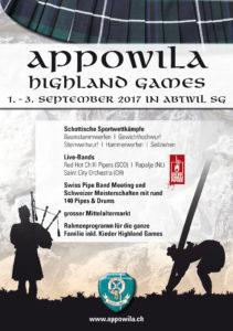 Appowila Highland Games @ Abtwil SG | Sankt Gallen | Schweiz