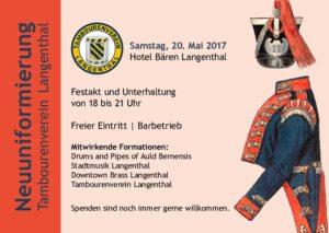 Tambourenverein Langenthal Neuuniformierung @ Hotel Bären langenthal | Langenthal | Bern | Schweiz