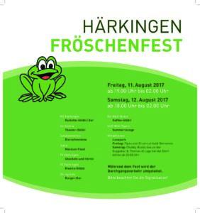 Fröschefest 2017 Härkingen @ Härkingen | Härkingen | Solothurn | Schweiz